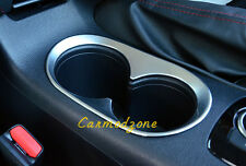 1* Matte Accessories Front Water Cup Holder Cover For Mazda 3 M3 AXELA 2014-2016
