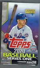 2020 Topps серия 1 бейсбол в заводской упаковке хобби коробка 1 серебряный пакет
