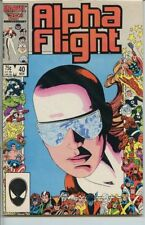 Alpha Flight 1983 series # 40 very fine comic book