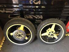 Yamaha Yzf R1 4xv Front Plus Rear Wheels