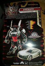 Sideways - Transformers Revenge of the Fallen - NEW - MOSC - FLAWLESS