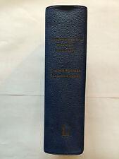 DICTIONNAIRE ANGLAIS ESPAGNOL ENGLISH SPANISH 1966 LAROUSSE