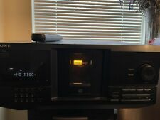 Sony CDP-CX235 CD Mega Changer 200 Disc Player Tested & Working w/ Remote.