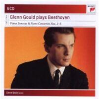 GLENN GOULD - G.G. PLAYS BEETHOVEN-SONATEN & KONZERTE 1-5 (BOX-SET) 6 CD NEU