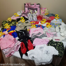 Build a Bear massive lot of rare and retired clothes and accessories