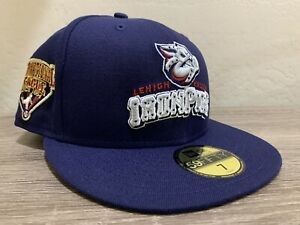 New Era Lehigh Valley IronPigs League Patch 59FIFTY-FITTED Cap Size 7 Hat