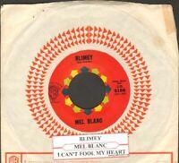 Blanc, Mel - Blimey/I Can't Fool My Heart Vinyl 45 rpm record Free Shipping