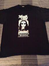 INFERNAL WAR Deschristianized By.. Shirt XL,Gorgoroth,The Chasm,Inquisition