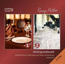 Hintergrundmusik: Vol.1 & 2-Gemafreie Musik (2CDs) von Gemafreie Musik,Ronny Matthes,Matthesmusic (2015)