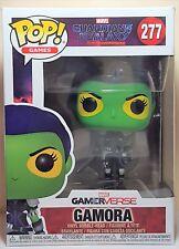 Funko Pop Gamora # 277 Guardians of The Galaxy GamerVerse Bobble Head Figure
