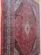 A MAJESTIC OLD HANDMADE TRADITIONAL ORIENTAL CARPET (367 x 267 cm)