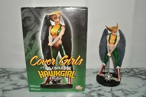 DC Direct Cover Girls Of The DC Universe Limited Edition Hawkgirl Statue w/ Box