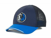 Dallas Mavericks NBA Adidas NBA Courtside Burner Flex Fit Cap Hat S/M