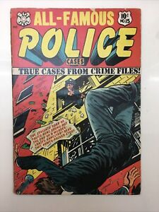 All-Famous Police Cases #15 cover by L.B. Cole Terror Weird Ghost