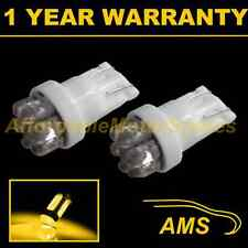 2X W5W T10 501 XENON AMBER 7 DOME LED SIDELIGHT SIDE LIGHT BULBS HID SL100406