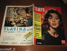 RIVISTA TEMPO 1958/14=SUZY PARKER=ANNA PROCLEMER=JOSETTE CHOULEUR=AGNES LAURENT=