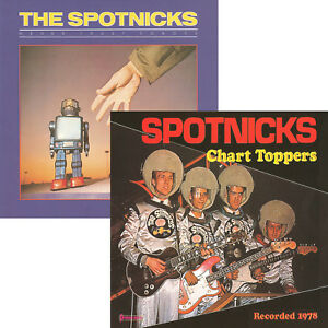 CD The Spotnicks Never Trust Robots Chart Toppers Digip