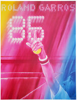 JACQUES MONORY - Roland Garros- Farblithografie - HANDSIGNIERT,NUMMERIERT