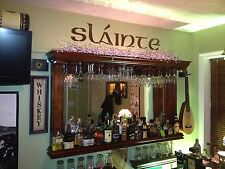 Slainte - CUSTOM BAR DECOR - Irish Celtic Cheers DECAL
