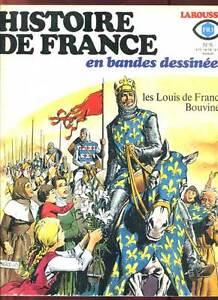 FASCICULE HISTOIRE DE FRANCE EN BD 6. LAROUSSE. 1977.