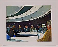 "Ralph McQuarrie Battlestar Galactica Art Print #1- Quorum of 12 Colonies 11""x13"""
