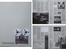 FOSTEX B16 BROCHURE (1984) REEL TO REEL TAPE RECORDER
