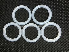 "5PCs 2"" Sanitary Tri Clamp Silicon Gasket Fits 64mm OD Type Ferrule Flange S8"