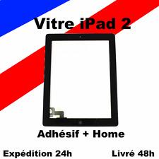 VITRE TACTILE COMPLETE PRÉ-ASSEMBLÉE NOIR pour IPAD 2 NOIR + ADHÉSIF + HOME