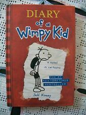 Diary of a Wimpy Kid a novel in cartons (Jeff Kinney, 2007 Hardcover)