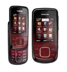 Nokia 3600 Slide in Dark Red Handy Dummy Attrappe - Requisit, Deko, Ausstellung