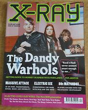 X-Ray magazine, May 2003, The Dandy Warhols, Massive Attack, Electric Six