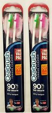 2 Pack - Orabrush - Tongue Cleaner - Various Colors