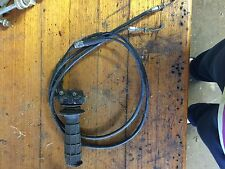 2005 05 SUZUKI DRZ400 DRZ 400 THROTTLE WITH CABLES WRECKING MORE PARTS