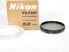 Nikon 52 mm polarizing filter