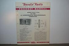 BENDIX RADIO SERVICE MANUAL MODELS 0656 656 (7 PAGES)