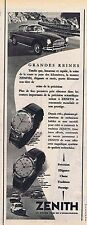 PUBLICITE ADVERTISING 114 1956 ZENITH montres