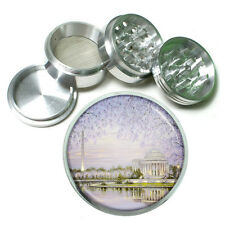 "Washington D.C. D7 Aluminum Herb Grinder 2.5"" 63mm 4 Piece Landmarks"