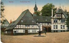 Germany AK Goslar - Frankenberger Plan old postcard