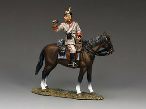 King & Country FW128 Mounted Infantry Officer MIB Signed Andy Neilson Retired