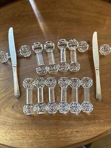 Crystal Knife Rest Set (12)