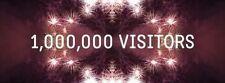 1 million views- SEARCH ENGINE LIFETIME WEBSITE TRAFFIC- GOOGLE+BING+YAHOO