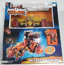 2004 Bandai Power Rangers Dino Thunder Mezodon Megazord Used Complete in Box