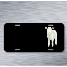 Farm Sheep Front Animal Mammal On License Plate Car Front Add Names