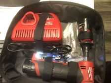 Milwaukee 2485-20 M12 Right Angle Die Grinder With 2.0 Batteries and a Charger!