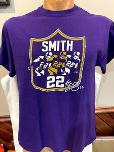 SWEET Minnesota Vikings Men's Sz Lg Harrison Smith Purple T-Shirt, NEW&NICE!