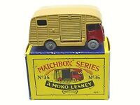 Matchbox Lesney No.35a ERF Marshall Horsebox Mk.7 Type B2 Series MOKO Box (GPW)