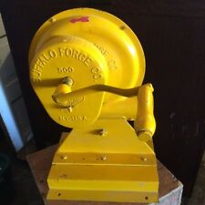 Vintage 1950s Buffalo Forge Company 500 Hand Crank Blower Ferrier Blacksmith