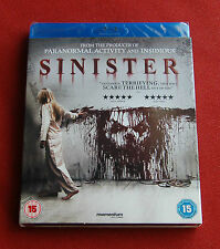 Sinister - NEW UK Blu-Ray - Ethan Hawke, Juliet Rylance, Fred Dalton Thompson