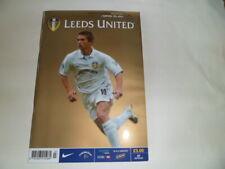 LEEDS UTD V HAPOEL TEL AVIV    UEFA CUP 31/10/2002