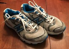 Womens White, Gray, & Blue New Balance WR749ST Shoes Size 7